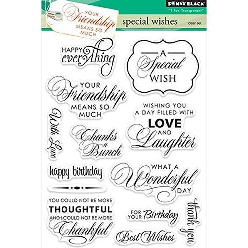 Penny Black Stamp set - Special Wishes