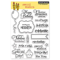 Penny Black Stamp set - Sweet Wishes