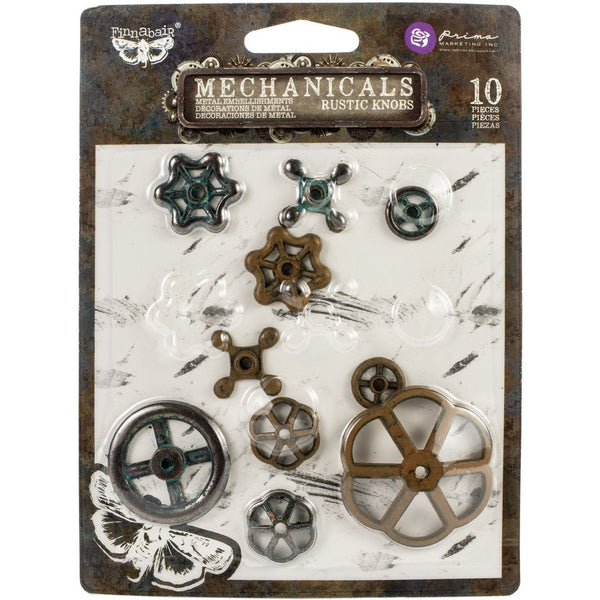 Prima Mechanicals - Rustic Knobs 10 pcs