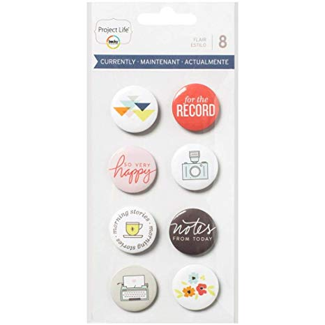 Project Life Buttons - Flair