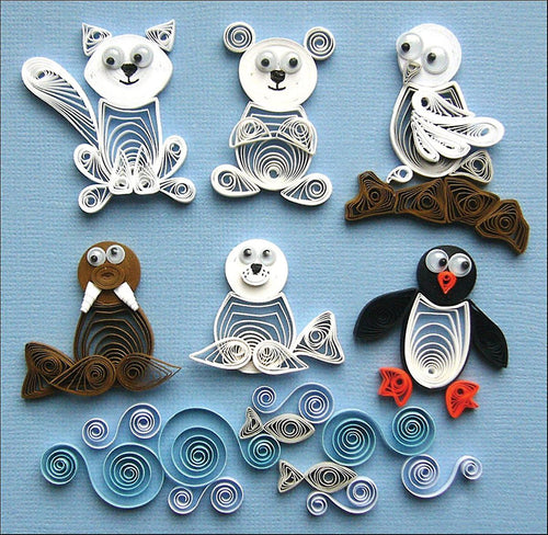 Quilled Creations Kit - Arctic Buddies