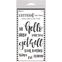 Letter It Stamp Set - Greetings