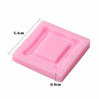 Silicone Mold - Rectangle Frame