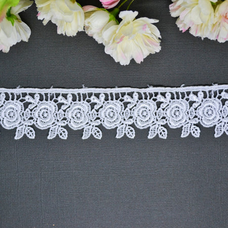Delicate Double Edged Lace 30cm