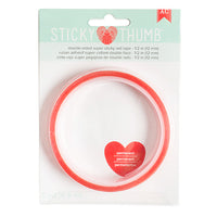 AC Double Side Tape - Super Sticky Red 12mm