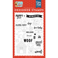 Echo Park Stamp Set - Puppy Love