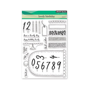 Penny Black Stamp set - Lovely Birthday