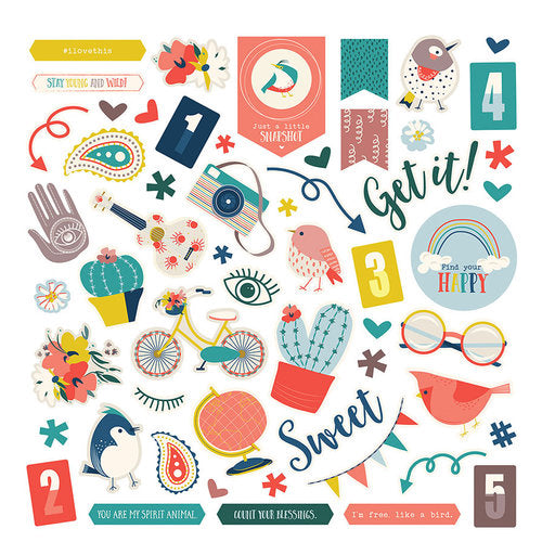 Photoplay Sticker Sheet 12