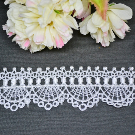 Cotton Delicate Arch Lace - 30cm
