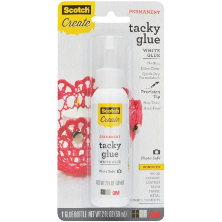 Scotch Glue - Permanent Tacky 2oz