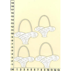Scrapmatts Chipboard - Baskets 02