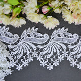 Scrolling Swirl Floral Lace - 30cm