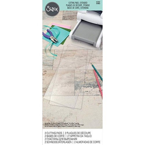Sizzix Extended  Cutting Pads 1 Pair
