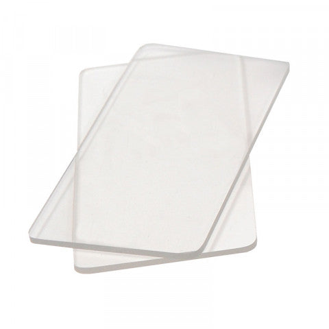 "Sizzix Cutting Plates - Pair of Mini 4 7/8"" x 2 1/2"""