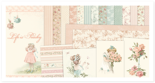 Pion Design Paper Pack - Life Is Peachy