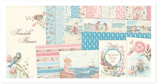 Pion Design Paper Pack - Seaside Stories