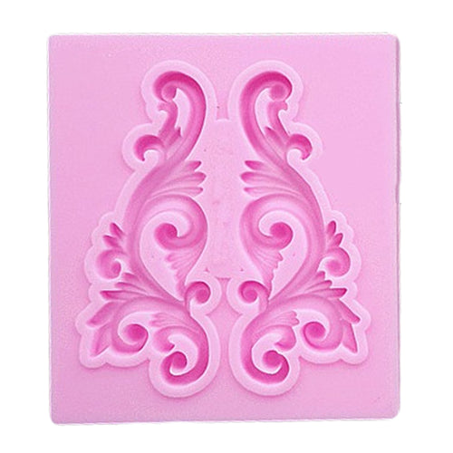 Silicone Mold - Small Flourish Scrolls