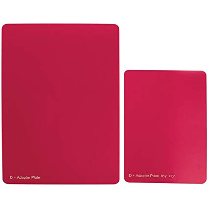 Spellbinders Grand Calibur Spacer Plate Raspberry