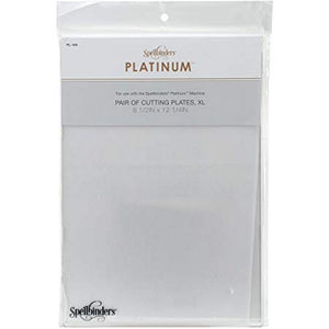 Spellbinders Platinum - Cutting Plates A4