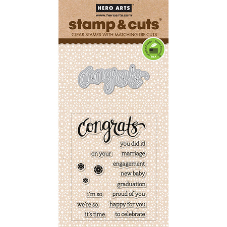 Hero Arts Stamp & Cut Birthday