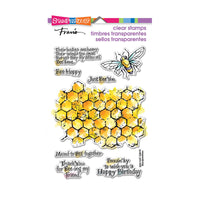 Stampendous Stamp Set - Honeycomb Wishes