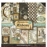 "Stamperia Paper Pack 12"" x 12"" - Alchemy"