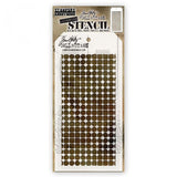 Tim Holtz Stencil - Grid Dot