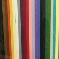 HP Quilling Strips 3mm - Metallic Rainbow