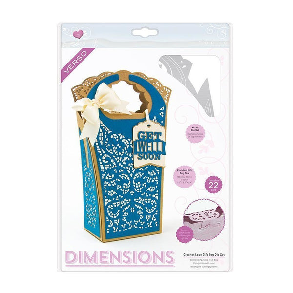 Tonic Studios Die set - Lace Gift Bag