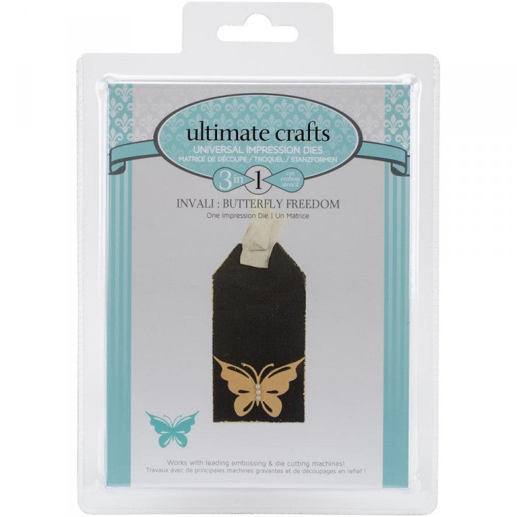 Ultimate Crafts Die - Butterfly Freedom
