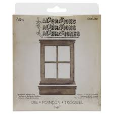 Tim Holtz Die Set - Bigz Window & Window Box