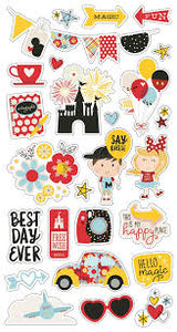 Simple Stories Chipboard Stickers - Say 4 Cheese