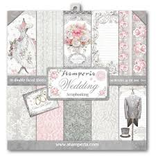 "Stamperia Paper Pack 12"" x 12"" - Wedding"