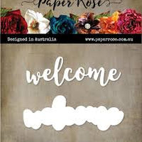 Paper Rose Die set - Welcome Layered