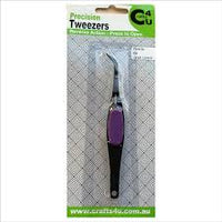 Crafts4U Tweezers - Precision Reverse Action