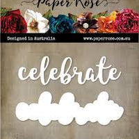 Paper Rose Die set - Celebrate Layered