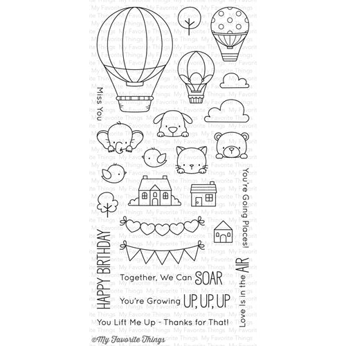 My Favorite Things Up In The Air Stamp