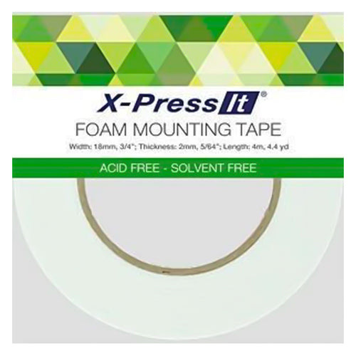 X-Press It Foam Mounting Tape -18mm