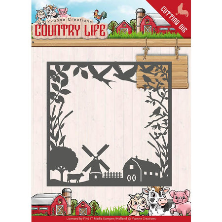 Find It Trading Yvonne Creations Country Life Die - Horse