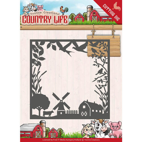 Find It Trading Yvonne Creations Country Life Die - Frame