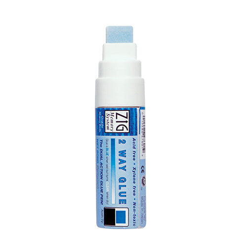 Zig Glue Pen - 2-Way Broad Tip