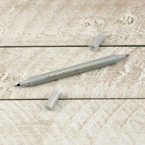 Zig Pen - Metallic Silver Fine and Medium