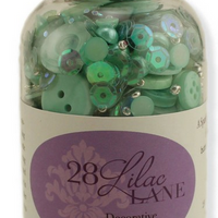 BG Buttons & Beads & Pearls - Minty Fresh