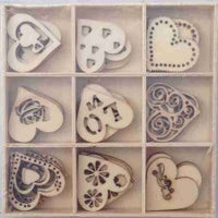 Crafts4U Wood Pieces - Love