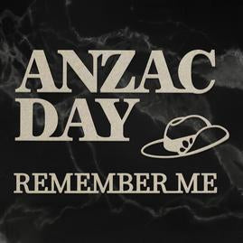 Couture Chipboard Set - Lest We Forget Anzac