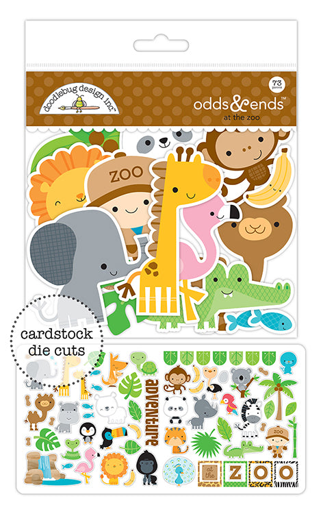 Doodlebug Designs Odds& Ends - At the Zoo