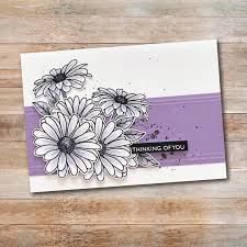 Paper Rose Stamp set - Daisy Days