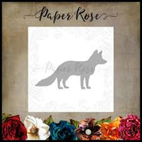 Paper Rose Die - Fox