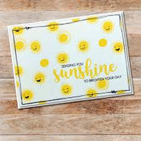 Paper Rose Stamp set - Sunshine Words