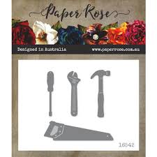 Paper Rose Die set - Tool Set 1